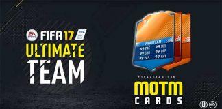 FIFA 17 MOTM Orange Cards Guide – FUT 17 Man of the Match