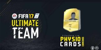 FIFA 17 Physio Coaches Cards Guide