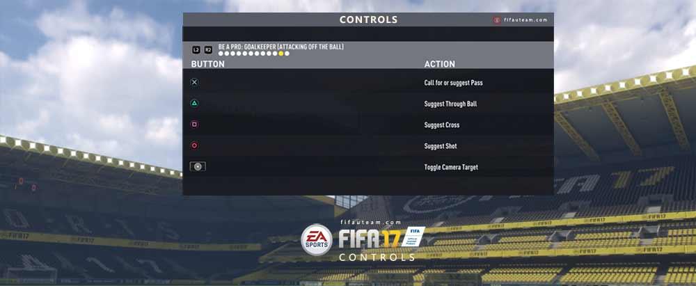 Controles de FIFA 17 para XBox e Playstation