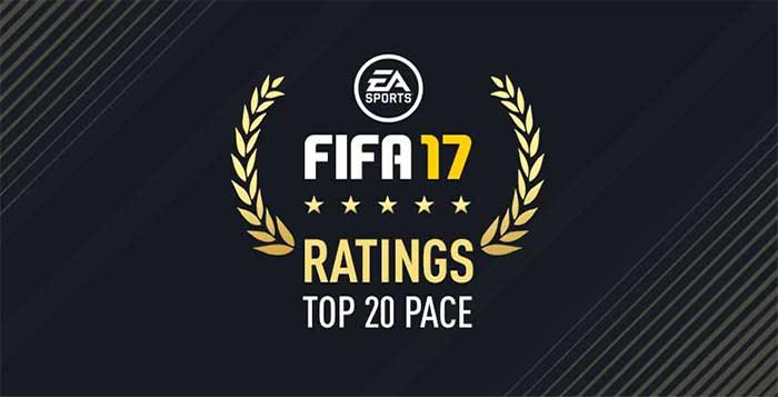 FIFA 17 Fastest Players (Top 20 Highest Pace) for FUT
