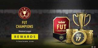 FUT Champions Rewards for FIFA 17 - Weekend League Schedule