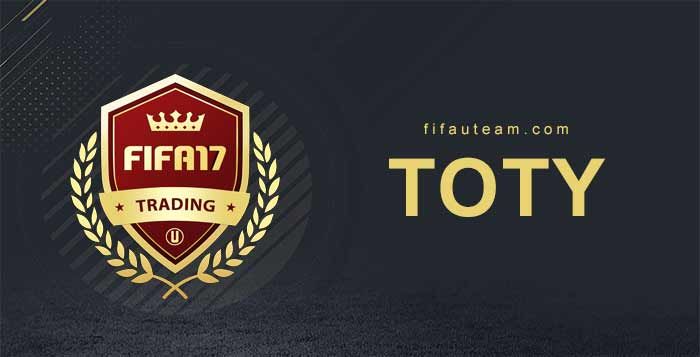 NIF, IF and TOTY Prices during the FIFA 17 Team of the Year