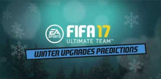 FIFA 17 Winter Upgrades Predictions