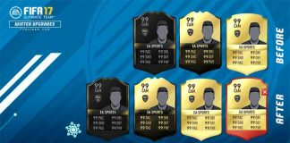 FIFA 17 February Upgrades Rules - Rating and Stats Boost Explanation