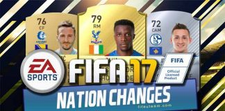 FIFA 17 Nation Changes List - Official Player Nationality Switches