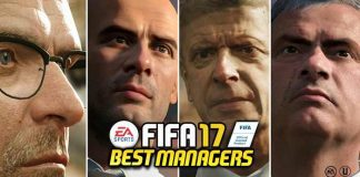 Best FIFA 17 Managers - The Most Rated Managers for Electronic Arts