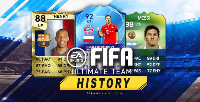 All History of FIFA Ultimate Team