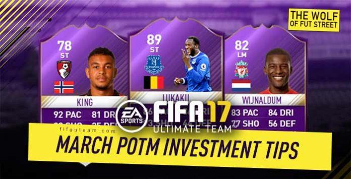FIFA 17 March Premier League POTM Investment Tips