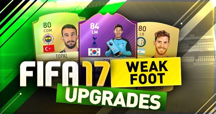 FIFA 17 Weak Foot Upgrades