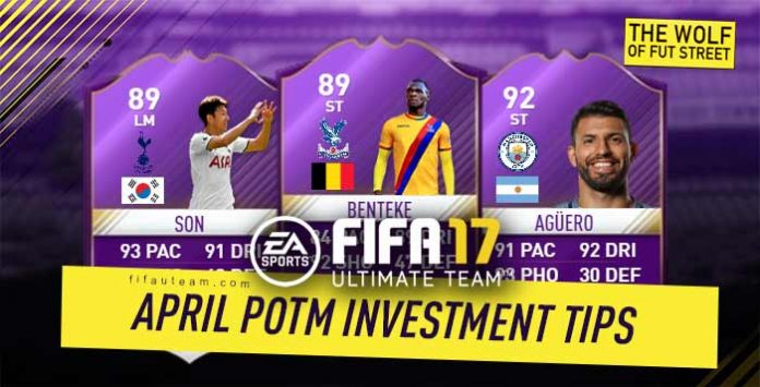 FIFA 17 April Premier League POTM Investment Tips