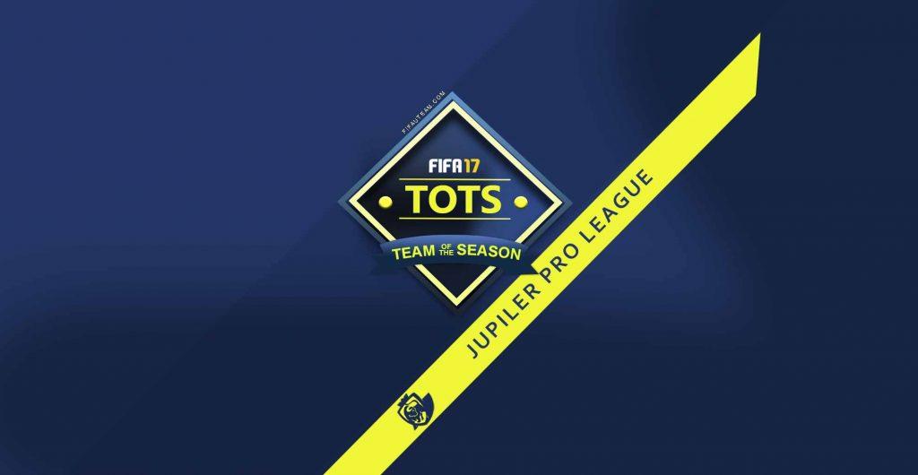 FIFA 17 Jupiler Pro League Team of the Season (Belgian League)
