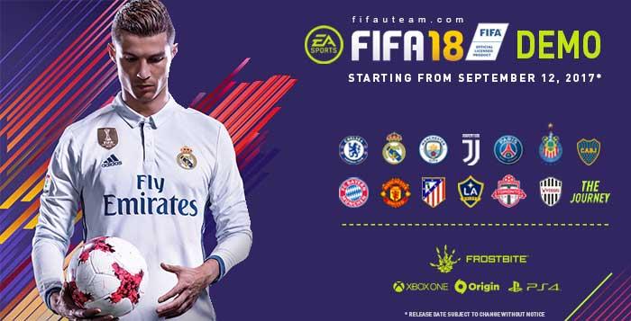 FIFA 18 Demo Guide - Release Date, Teams & More