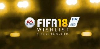 FIFA 18 Wishlist