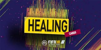FIFA 18 Healing Cards Guide