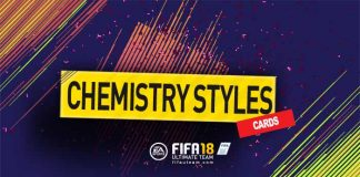 FIFA 18 Chemistry Styles Cards Guide