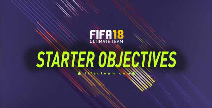 FIFA 18 Starter Objectives Guide - List, Rewards and Instructions