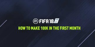 How to Make 100k in the First Month of FIFA 18