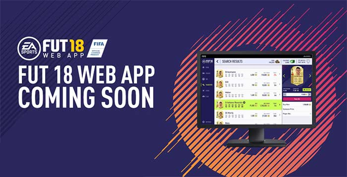 FUT Web App for EA Sports FIFA 18 is now live!