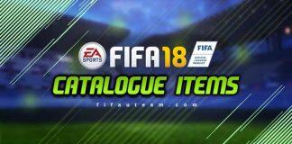 FIFA 18 Catalogue Items for FIFA 18 Ultimate Team
