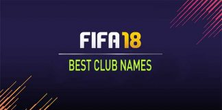The Best Club Names for FIFA 18 Ultimate Team