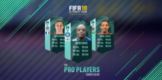 FIFA 18 Pro Players Cards List and Guide