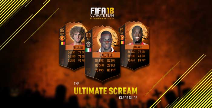 FIFA 18 Ultimate Scream Cards Guide
