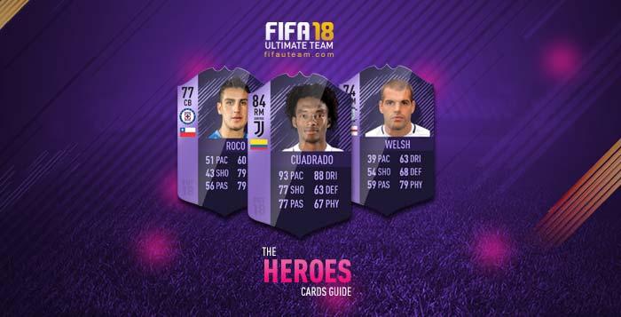 FIFA 18 Hero Purple Cards Guide