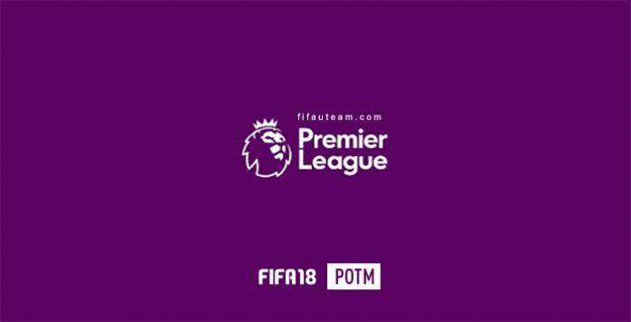 FIFA 18 Premier League Player of the Month (POTM)