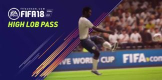 FIFA 18 High Lob Pass Tutorial