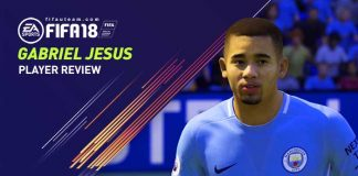 FIFA 18 Gabriel Jesus Player Guide and Review