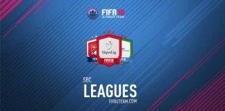 FIFA 18 Squad Building Challenges Rewards - Leagues SBC