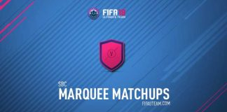 FIFA 18 Squad Building Challenges Rewards - Marquee Matchups