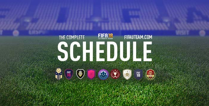 FIFA 18 Schedule - All the Dates for FIFA 18 Ultimate Team