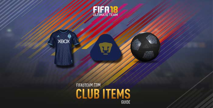 FIFA 18 Club Items Guide - Kits, Badges, Balls and Stadiums