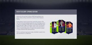 FIFA 18 Path to Glory Offers Guide - Spring Edition