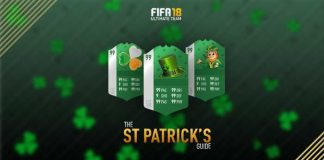 FIFA 18 St Patricks Day Guide