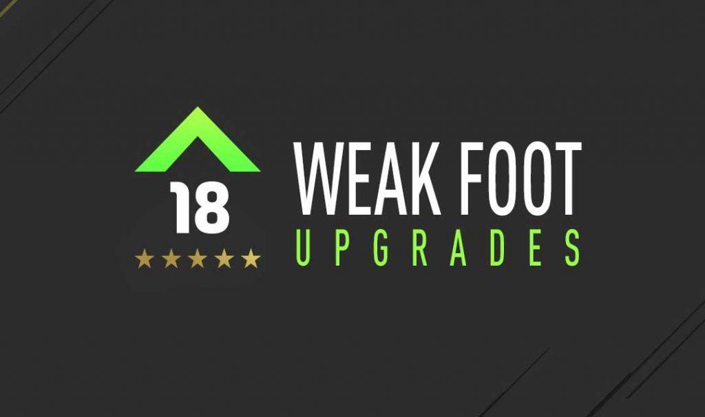 FIFA 18 Weak Foot Upgrades Guide