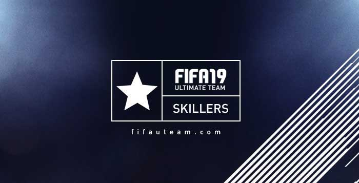 The Best FIFA 19 Skillers - 5 Star Skill Players List
