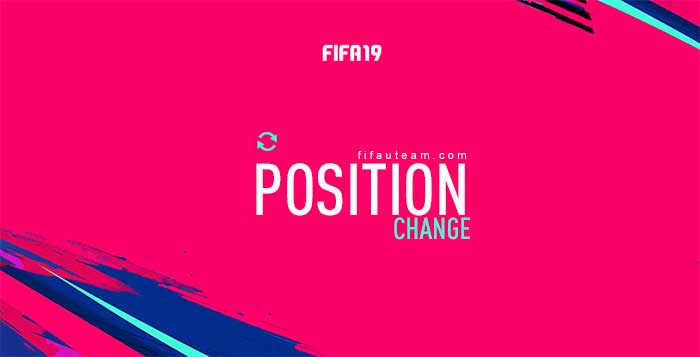 FIFA 19 Position Change Cards Guide