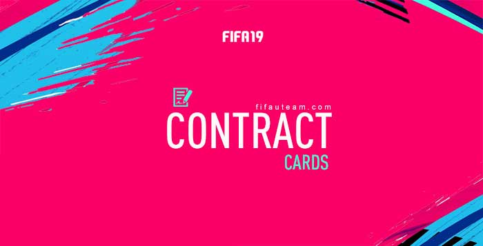 FIFA 19 Contract Cards Guide