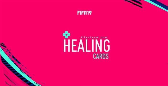 FIFA 19 Healing Cards Guide