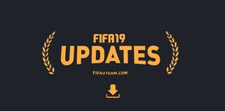 FIFA 19 Update and Server Update History for Playstation, XBox and PC