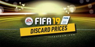 FIFA 19 Quick Sell Prices - Discard Prices for FUT 19