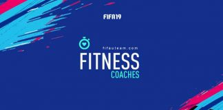 FIFA 19 Fitness Coaches Cards Guide