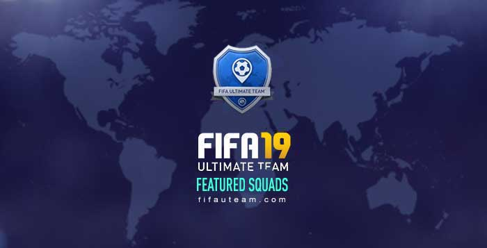 FIFA 19 Featured Squads for Squad Battles
