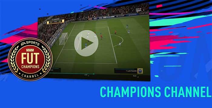 FUT Champions Channel Guide for FIFA 19 Ultimate Team