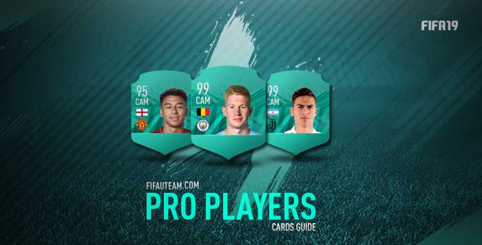 FIFA 19 Pro Players Cards List and Guide