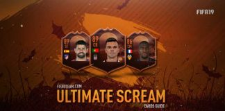 FIFA 19 Ultimate Scream Cards Guide