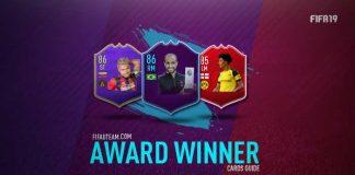 FIFA 19 Award Winner Cards Guide (POTM & POTY)