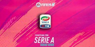 FIFA 19 Serie A Squad Guide